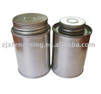 cans,118ml(4 oz),printed pvc/cpvc/upvc cement can