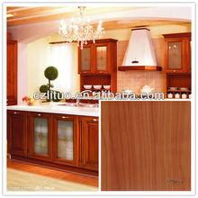 woodgrain color decorative rigid pvc film for doors