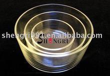 Borosilicate glass food container