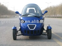 Electric Tricycle With Hub Motor