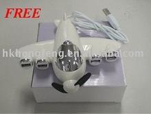Free shipping new cute 4 ports USB2.0 HUB