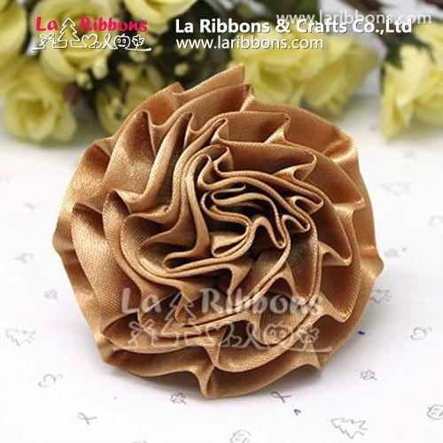 Satén de la flor de la cinta para zapatos ornamento