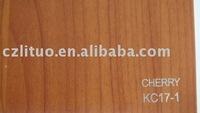 woodgrain color decorative pvc folio for furnitures