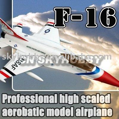 f 16 fighter. Mini F-16 Fighter Foam Jet