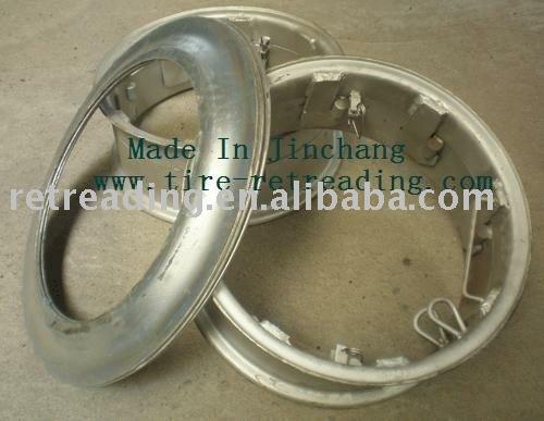 Recauchutado de neumáticos de piezas ( llantas de acero )