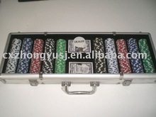 Custom Poker Chip Set