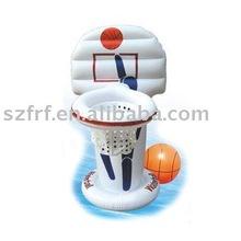 Inflatable pool basketball set,inflatable pool basketball game,inflatable float basketball hoop,inflatable basketball backboard