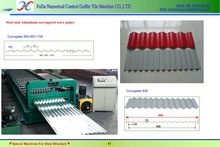 high speed steel roof and wall roll forming machine line