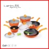 10 pcs forged aluminum non-stick cookware set NL-FX1010