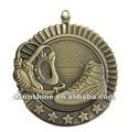 Fábrica del medallón del metal