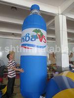 infaltable model/inflatable bottle for promotion