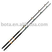 130lb big game boat fishing rod in fibre glass