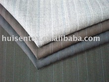 T/R stripe suiting fabric with wool