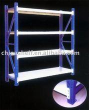Medium duty storage shelf