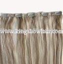 Human hair Clip in hair extension