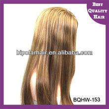 100% European Remy Human Hair Full hand-tied kosher jewish wig