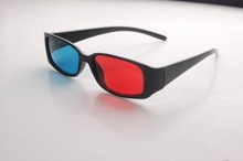 Plastic Thicken Red Cyan 3D Glasses
