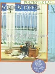 polyester window curtain patterns