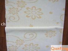 Orange color knitting mattress fabric 1001-50