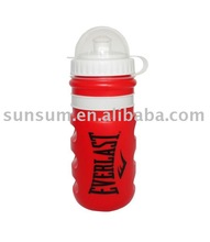 New design Eco-friendly plastic sports water bottle with dust cap