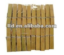 215027 BAMBOO CLOTHES PEGS