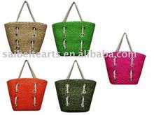 wholesale straw plaited bag tote bag shopping bag