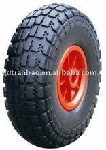 3.00-4 pu rubber wheel