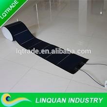 5392*378*1.5mm 144W Non glue back amorphous silicon thin film flexible solar panel(LQ-XLS22-144)