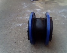 DIN/EN High Qualit DN25-DN600 single sphere rubber Expansion Joint with flange