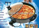 1500W round shape 38cm electric Pizza Pan Pizza maker /machine