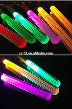 wedding decoration led glow sticks,flashing stick light,led light keychain