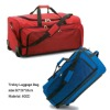 (XHF-TRAVEL-011) trolley travel bag on wheels travel trolley luggage bag with compartments