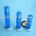 El plástico redondo privado de aire de los PP embotella la bomba 15ml
