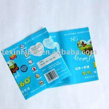 PVC heat shrink sleeve labels for hairspray bottles