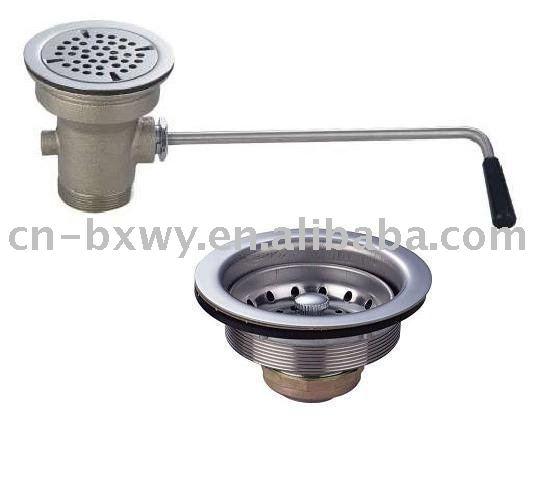 stainless steel drainer of sink sink parts kitchen parts