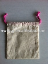 Eco 100% Cotton Drawstring Shoe Bags