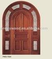 luxe thai bois de chêne solide porte extérieure