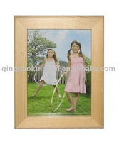 Natural Wood Photo Frame,crafted of Pine, Features in FSC Wood