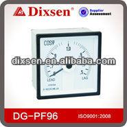 240 Long Scale Meter Square Power Factor Meter