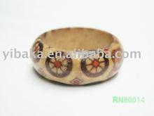 Fashion Wooden Ring(RN80014)