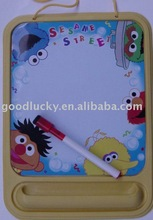 plastic magnetic board&mark pen