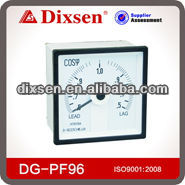 DE-96PF Square Analog Panel Meter Power Factor Meter