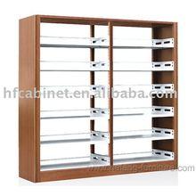 Wooden-Board Bookshelf,Bookcasce,Library Furniture
