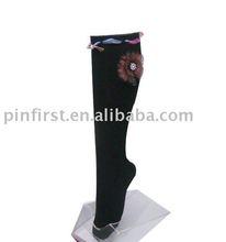 200 Pairs Cotton/Spandex Velvet High Stockings New