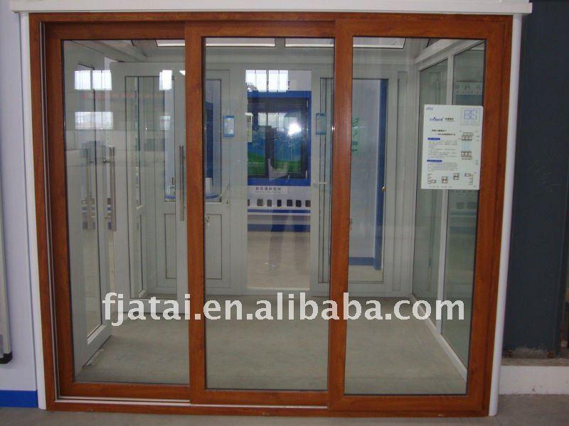 Three Panel Sliding Patio Doors 800 x 600