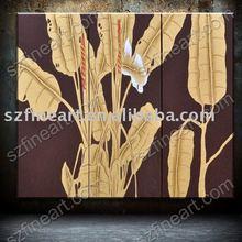 Ultimo disegno floreale di pittura per la decorazione ab-647-10 disegni pittura su tessuto