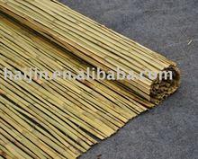 natural bamboo garden fence