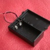 9V battery holder case box with cover and Switch
