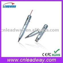 CE/ROHS/FCC Best seller cooperate gift laser point pen usb custom