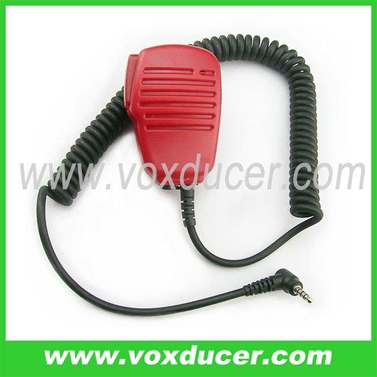 Military shoulder mic for Yaesu amateur radio VX-410 VX-420